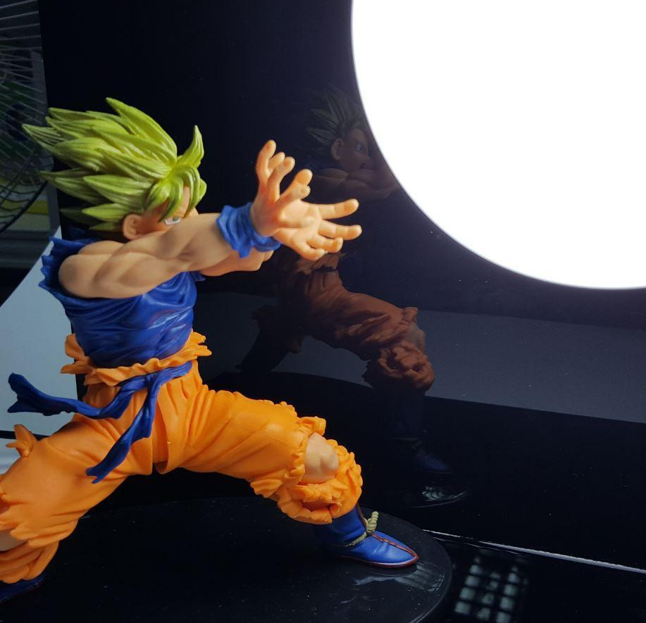 Dragon Ball Kamehameha Attack Super Saiyan Son Goku DIY Display Lamp - Saiyan Stuff - 2