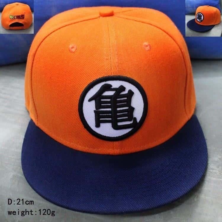 Dragon Ball Master Roshi Kanji Kame Symbol Hip Hop Snapback Hat Cap - Saiyan Stuff