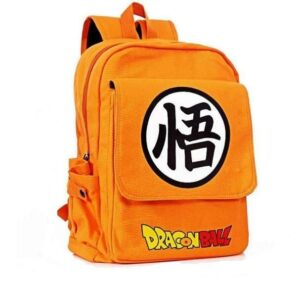 Dragon Ball Orange Shoulder School Bag Backpack - Saiyan Stuff