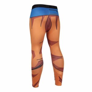Dragon Ball Son Goku Orange Belt Fitness Gym Compression Leggings Pants - Saiyan Stuff - 2