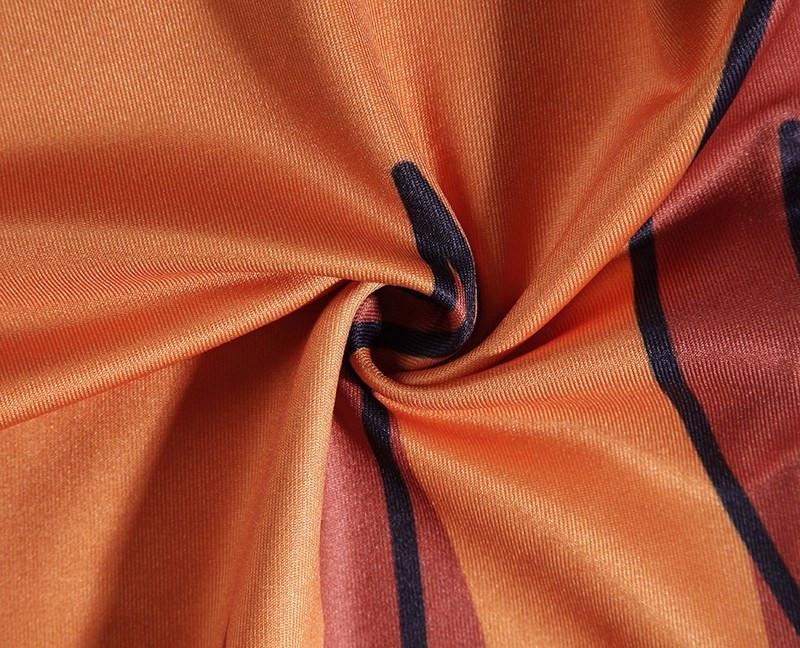 Dragon Ball Son Goku Orange Belt Fitness Gym Compression Leggings Pants - Saiyan Stuff - 7
