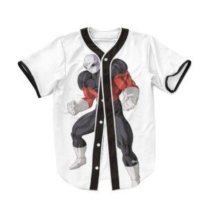 Dragon Ball Super Charging Jiren The Gray Baseball Jersey