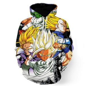 Dragon Ball Trunks Gohan Young Generation Super Saiyan Color Style Hoodie