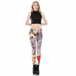 Dragon Ball Z Characters Women Compression Fitness Leggings Tights - Saiyan Stuff - 2