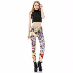 Dragon Ball Z Characters Women Compression Fitness Leggings Tights - Saiyan Stuff - 1