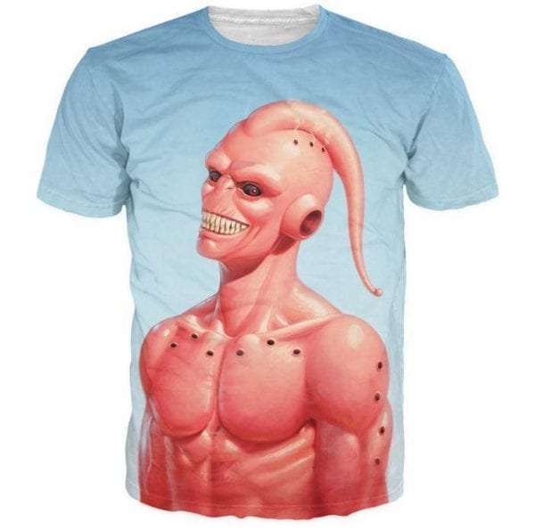 Dragon Ball Z – Cool Super Buu Evil Majin Buu 3D T-Shirt - Saiyan Stuff