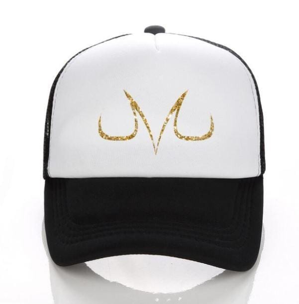Dragon Ball Z Demon Mark Majin Buu Vegeta Symbol Baseball Trucker Hat