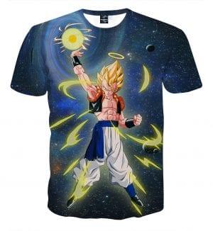 Dragon Ball Z Gogeta Releasing His Big Bang Attack T-Shirt