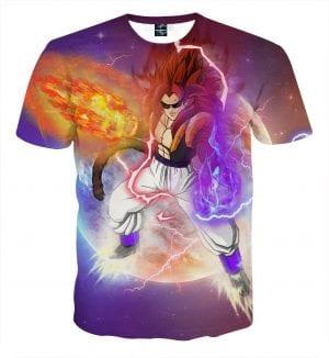 Dragon Ball Z Gogeta Super Saiyan 4 Black Eyes T-Shirt