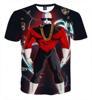Dragon Ball Z Jiren The Gray In His Luxurious Outfit T-Shirt