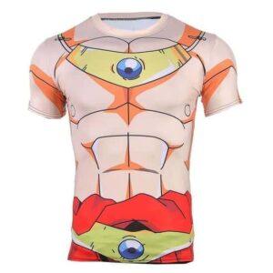 Dragon Ball Z Legendary Super Saiyan Broly 3D Cosplay Workout T-Shirt