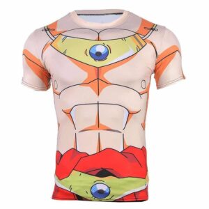 Dragon Ball Z Legendary Super Saiyan Broly 3D Cosplay Workout T-Shirt