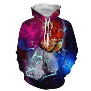 Dragon Ball Z Marvelous Majin Gogeta Super Saiyan 4 Hoodie
