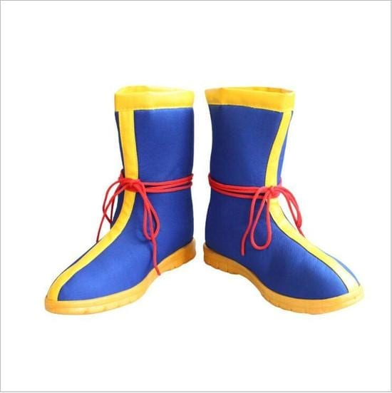 Dragon Ball Z Son Goku Saiyan DBZ Cosplay Blue Boots Shoes