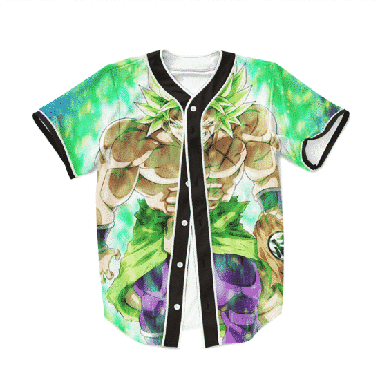 Dragon Ball Z Strong Legendary Saiyan Broly Baseball Jersey