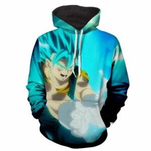 Dragon Ball Z Super Saiyan Vegito Releasing Kamehameha Hoodie