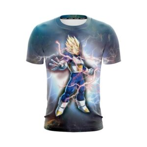 Dragon Ball Z The Legendary Vegeta In Super Saiyan 2 T-Shirt