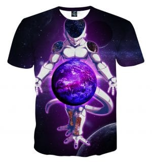 Dragon Ball Z The Merciless Lord Frieza Black T-Shirt