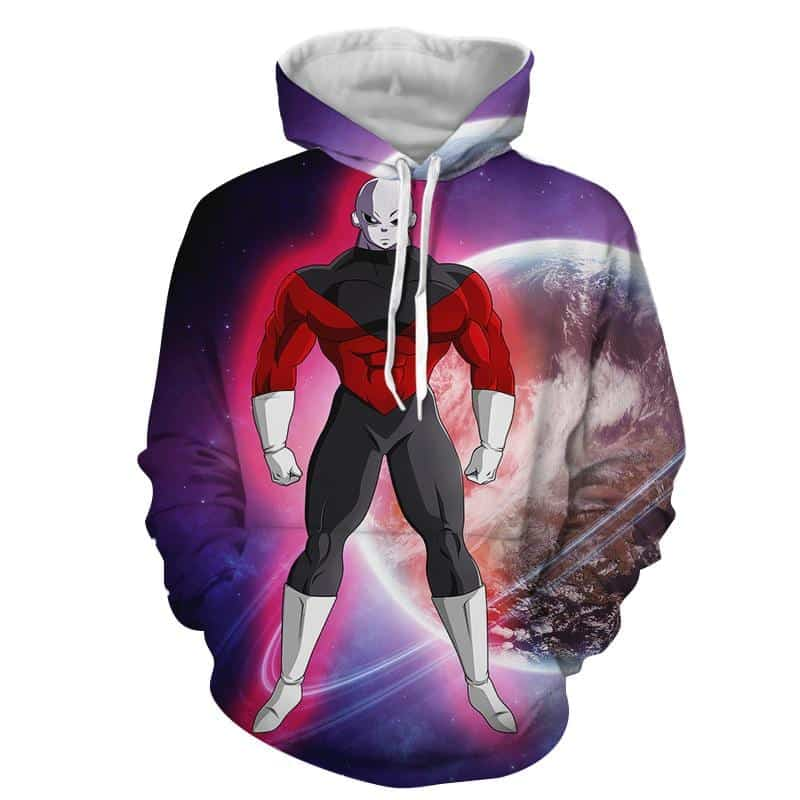 Dragon Ball Z The Unstoppable Jiren The Gray Purple Hoodie