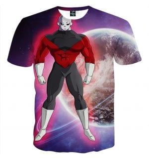 Dragon Ball Z The Unstoppable Jiren The Gray Purple T-Shirt