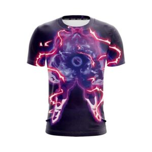 Dragon Ball Z Toppo In His Horrifying Aura Violet T-Shirt