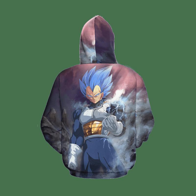 Dragon Ball Z Vegeta Cool Saiyan Prince Super Epic Hoodie