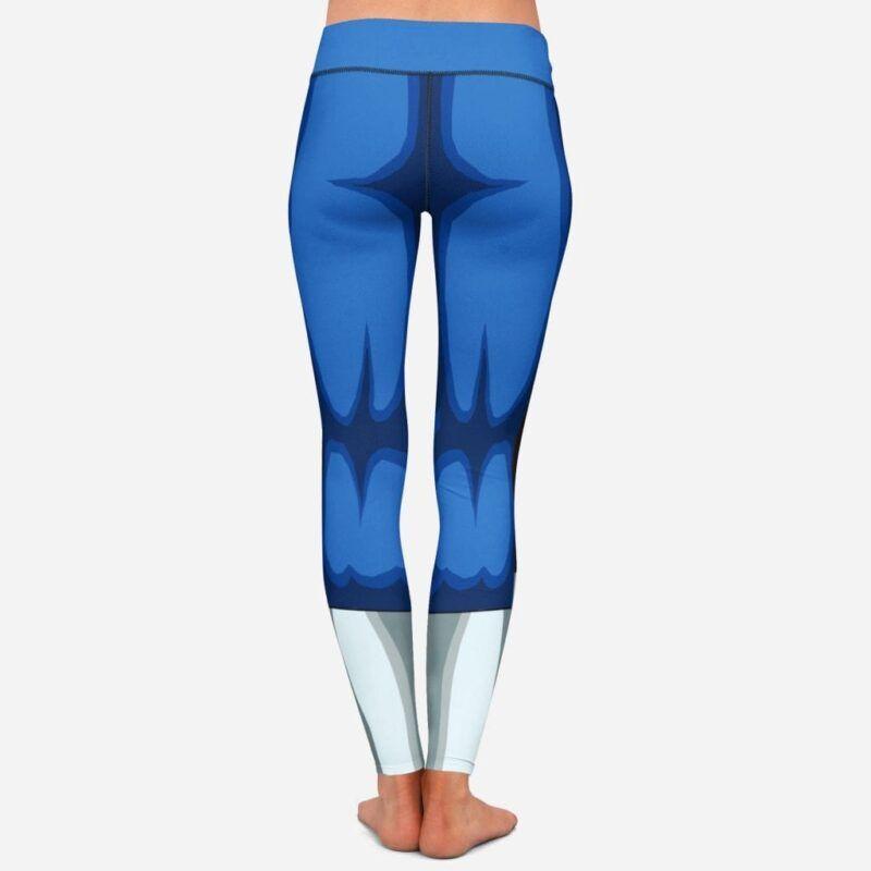 Dragon Ball Z Vegeta Women Cosplay Blue Leggings Yoga Pants