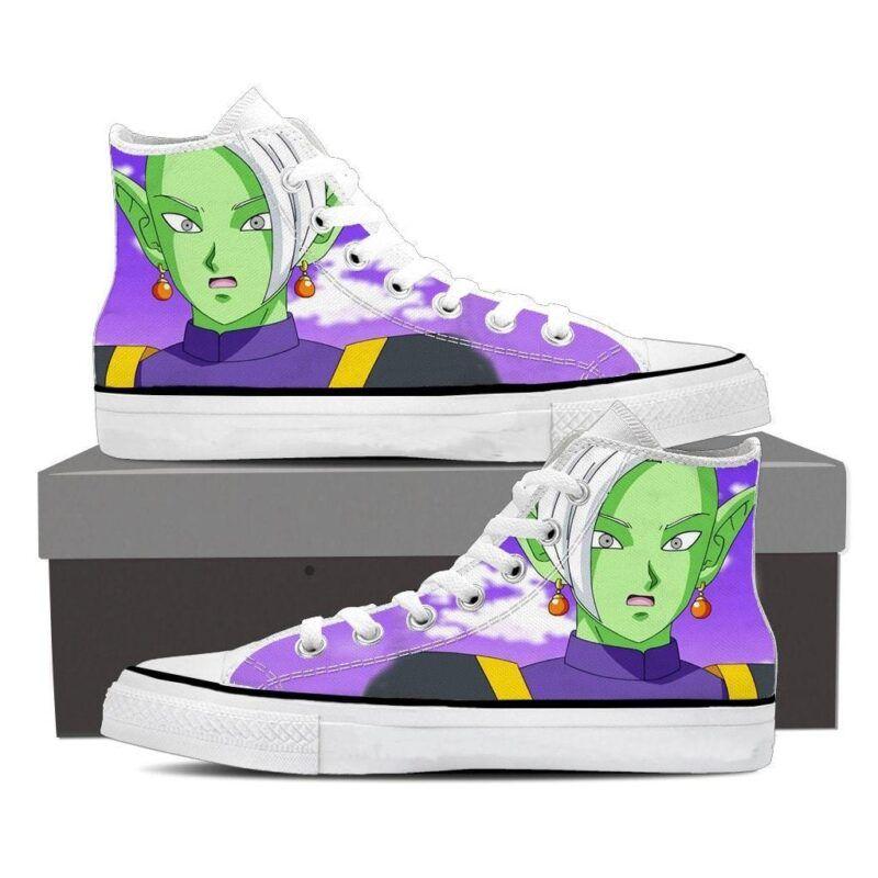 Dragon Ball Z Zamasu Supreme Kai Shocked Cool Sneaker Shoes