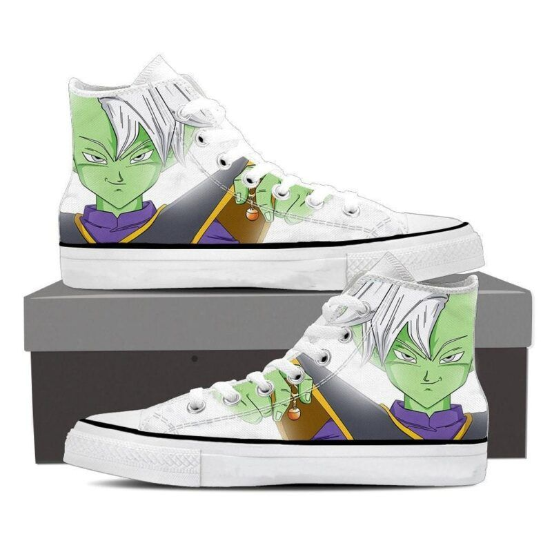 Dragon Ball Z Zamasu Supreme Kai White Chill Sneaker Shoes