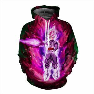 Goku Black Super Saiyan Rose Super Saiyan God Super Saiyan Purple Hoodie - Saiyan Stuff