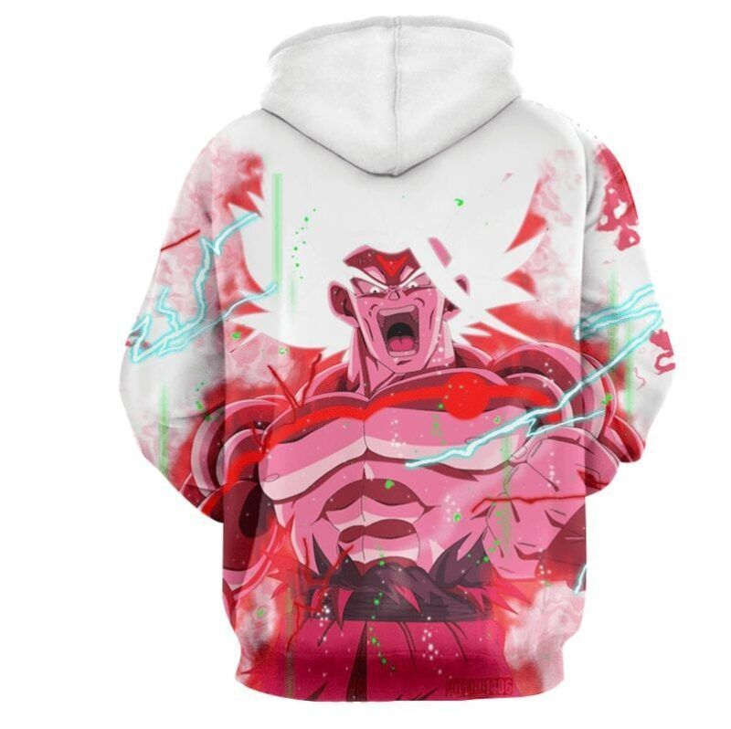 Goku Super Saiyan White Omni God Transformation Hoodie