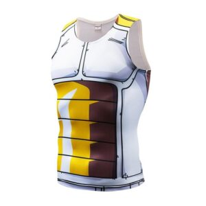 Vegeta Cell Saga Battle Saiyan Armor Fitness Tank Top