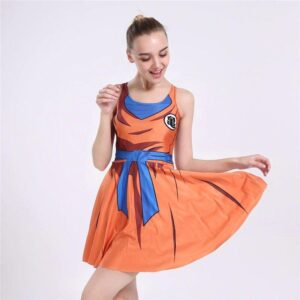 Dragon Ball Z Master Roshi's Kanji Symbol Cosplay Dress