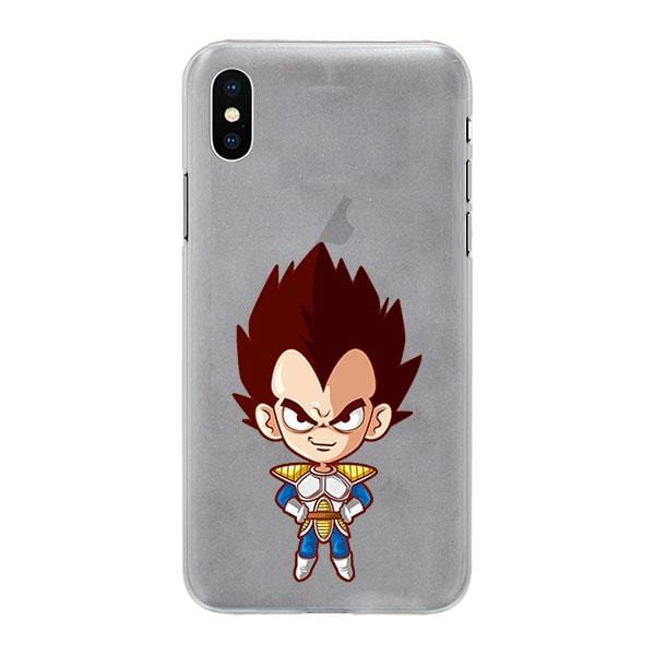 Cute Proud Vegeta Saiyan Prince Character Back Cover for iPhone 6 6s Plus