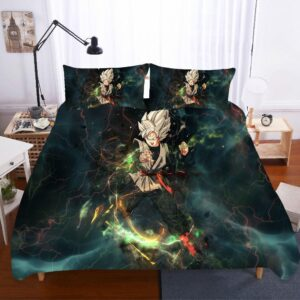 DBZ Goku Black Violent Power Lightning Bedding Set