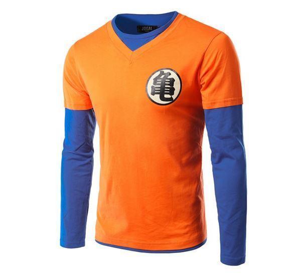 Master Roshi & Goku Dragon Ball Z Cosplay Long Sleeve T-Shirt