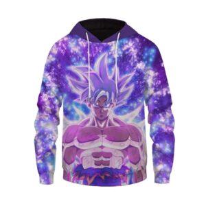 DBZ Son Goku Ultra Instinct & Vegeta SSJ Blue Hoodie