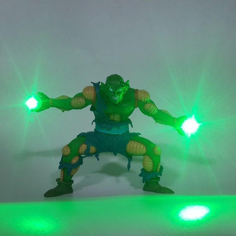 Piccolo Hyper Explosive Demon Wave Green Flash Ball DIY 3D LED Light Lamp