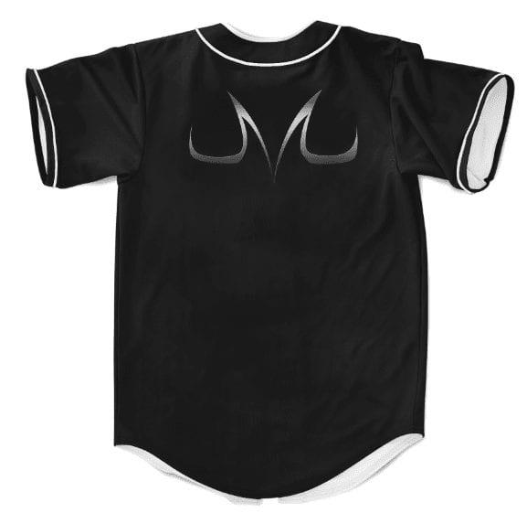 DBZ Demon Mark Majin Symbol Cool Black Baseball Jersey