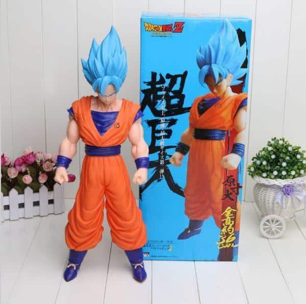 Resurrection F Super Saiyan Blue Goku Action Figure 42cm - Saiyan Stuff