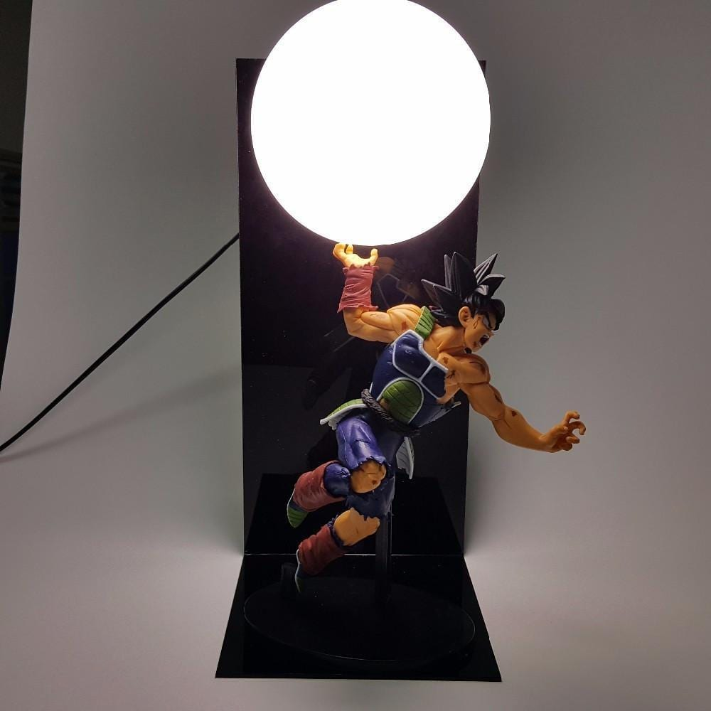 Bardock Saiyan Warrior Final Spirit Cannon Genki Dama DIY Lamp - Saiyan Stuff