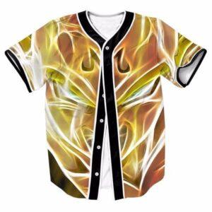 Super Saiyan Majin Vegeta DBZ Streetwear Hip Hop 3D Baseball Jersey - Saiyan Stuff - 1