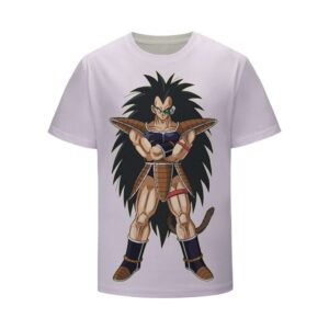 Dragon Ball Z Cool Saiyan Raditz Pride and Proud T-Shirt
