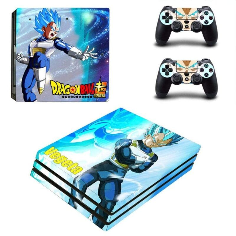 Dragon Ball Vegeta Kick-Ass Powerful Trendy PS4 Pro Skin