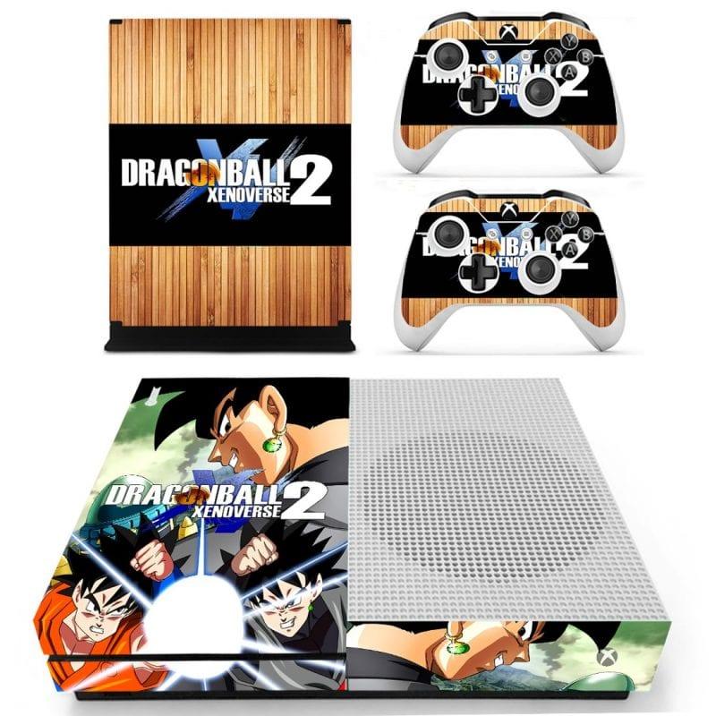 Dragon Ball Xenoverse 2 Son Goku Black Xbox One S Skin