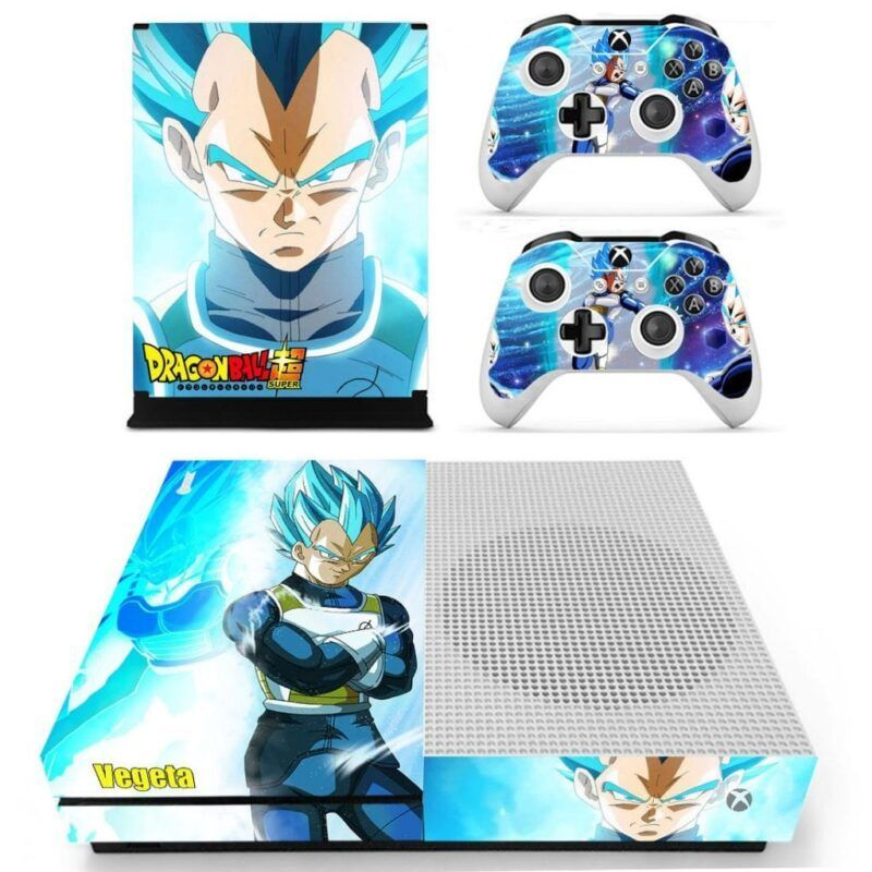 Dragon Ball Vegeta God Blue Kick-Ass Fabulous Xbox S Skin