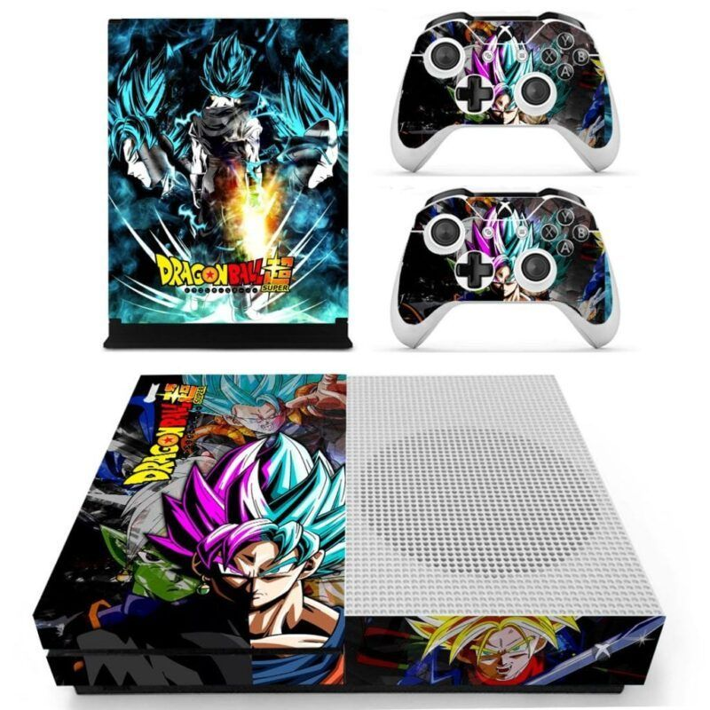 Dragon Ball Super Goku Blue & Rose Super Saiyan Xbox S Skin