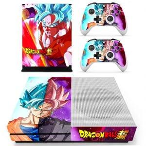 Dragon Ball Son Goku Blue Evil Rose Super Saiyan Xbox S Skin