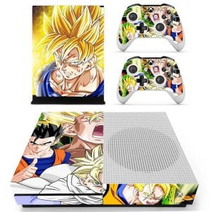 Dragon Ball Z Gohan Super Saiyan Forms Xbox One S Skin