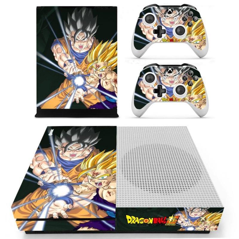 Dragon Ball Super Goku & Gohan Kamehameha Xbox One S Skin